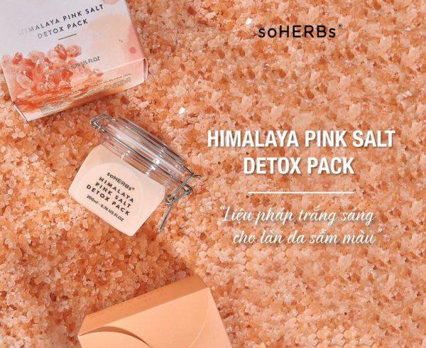 Soherbs Himalaya Pink Salt Detox Pack