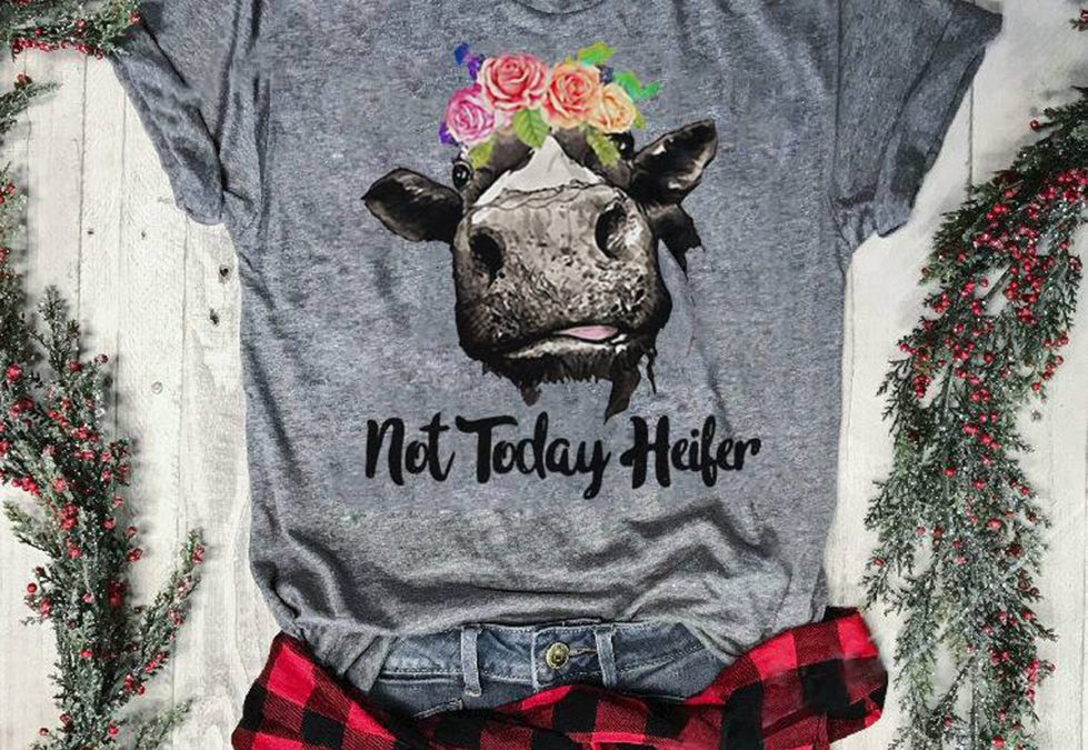 The Official Not today Heifer shirt and hoodie