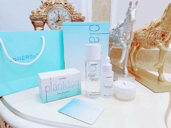 Bộ sản phẩm PlankTon Premium - Nữ Hoàng dưỡng trắng, khóa ẩm, điều trị sắc tố cho da