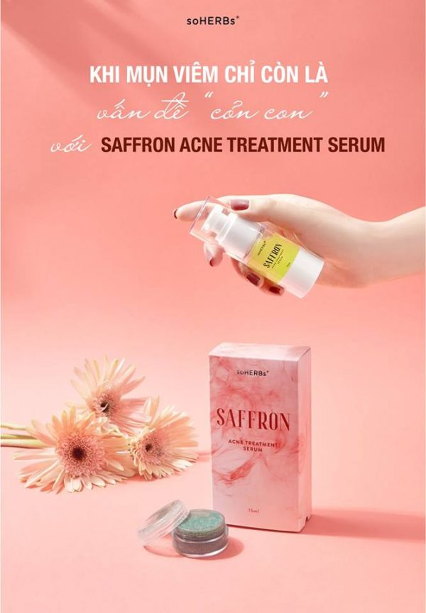 Saffron - Kem trị mụn cao cấp